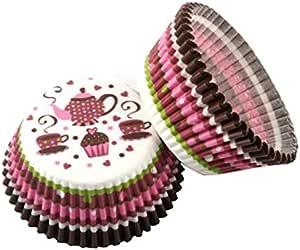 100 قطعة مافن ورقية كب كيك ملفوفة أغطية أكواب الخبز صناديق المافن كيك أدوات تزيين المطبخ أدوات الكعك DIY