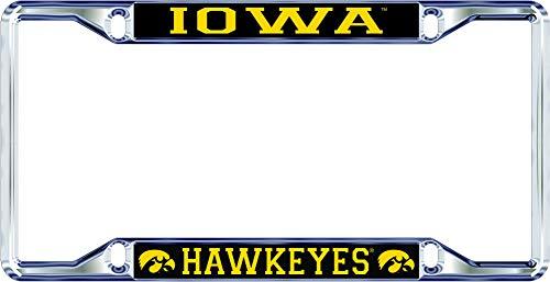 iowa hawkeye license plate frame - 5