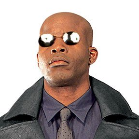 Rubie's Costume Co Matrix 2 Morpheus Glasses (Morpheus Matrix Costume)