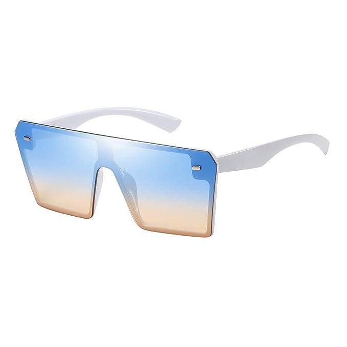 BBsmile Gafas de Sol Mujer Polarizadas Sunglasses Cuadrado ...