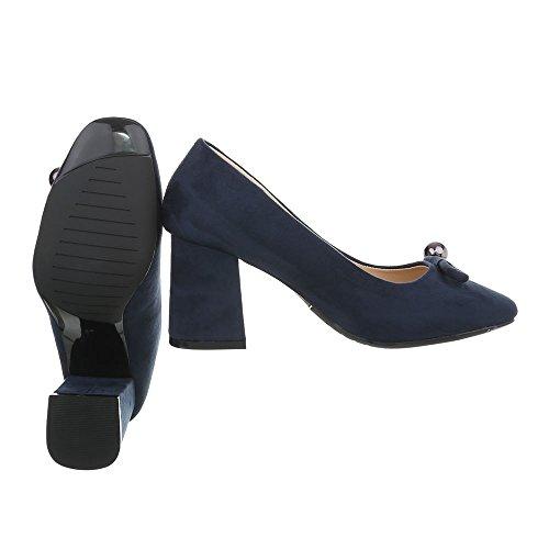 Ital Zapatos Tacon Mujer Zapatos de Para Mini Design Tac 6Yq16Inr
