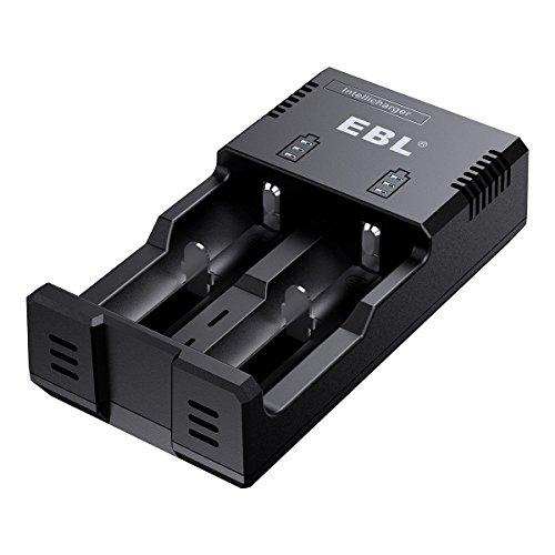 EBL Battery Charger for Li-ion/IMR/Ni-MH/Ni-CD 26650 22650 18650 8490 18350...