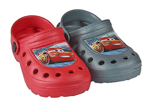 Disney Cars 3 beach mules Crocs Blue
