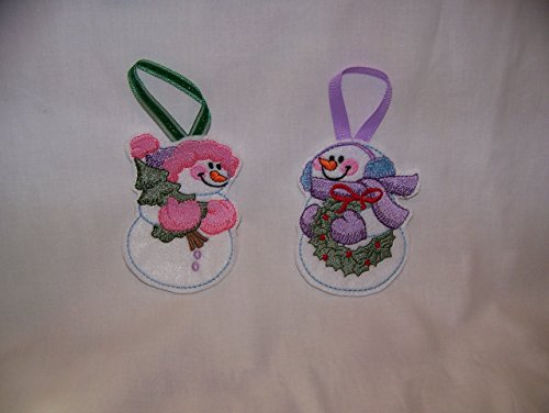 Mr. & Mrs. Snowman Ornament