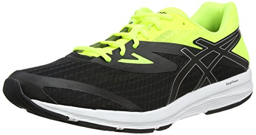 black safety Uomo Running 9093 Amplica Yellow Nero Scarpe silver Asics w06RXqPx0