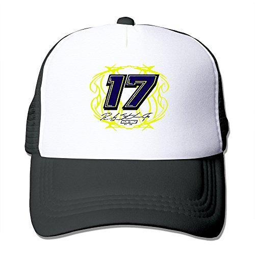 Ricky Stenhouse Jr. No.17 Snapbacks Snapback Hat Classic Black