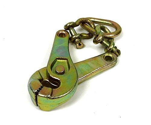 One Set - 2T ( 4000 LB ) Scissor Clamp or Jaw Pallet Puller