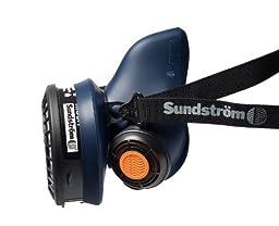 Sundstrom H01-2021 SR 100 M/L Half Mask Respirator, Silicone
