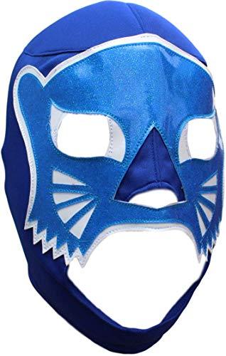 Deportes Martinez Blue Panther Lycra Lucha Libre Luchador Wrestling Masks Adult ()