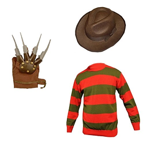 Unise (Freddy Krueger Costume Kid)