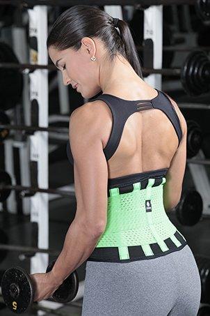 eca7b5eab0e Tecnomed Belt Fitness Body Shaper (Pink-Black