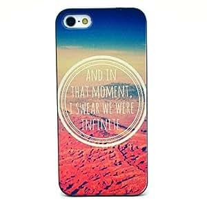 PEACH Infinite Desert Pattern Hard Case for iPhone 5/5S