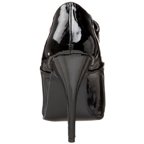mujer Botines 460 Pleaser para Noir 8134 SEDUCE CFvwqg