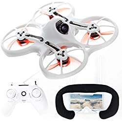 3. EMAX Tinyhawk RTF Micro Indoor Racing Drone with FPV Goggles and Controller for Beginners