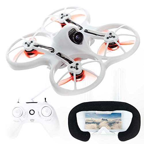 EMAX Tinyhawk RTF Micro Indoor Racing Drone with FPV Goggles and Controller for Beginners