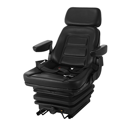 air ride mower seat