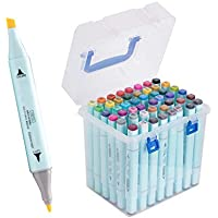 48-Count Tahenmaoyi Double-Tipped Sketch Markers for Kids, Artist Art Markers for Sketching