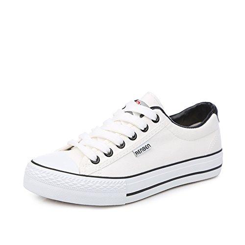 Zapatos clásicos del estudiante/Versión coreana de los zapatos de color llano bajo G