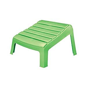 Adams 8380 08 3731 Adirondack Ottoman Summer Green Patio Otto