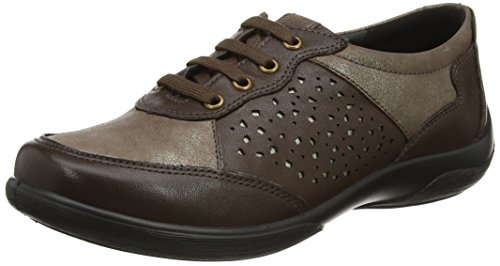 Scarpe Donna Harp Brown Derby Stringate 61 Padders Marrone Combi UwgxZw