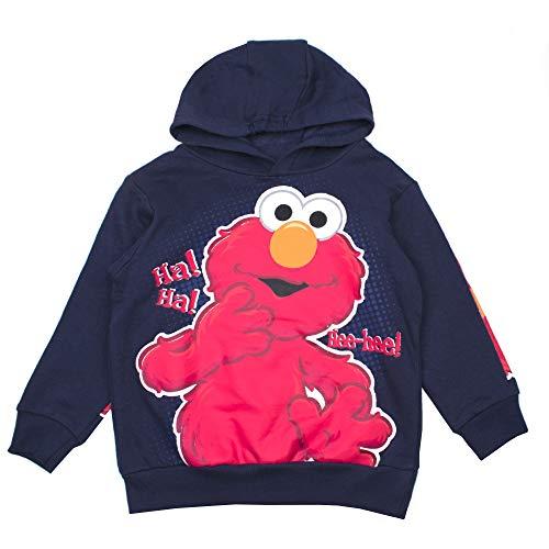 Sesame Street Kids Elmo Hoodie Hoodie Featuring Elmo (Navy Elmo, 24M) -