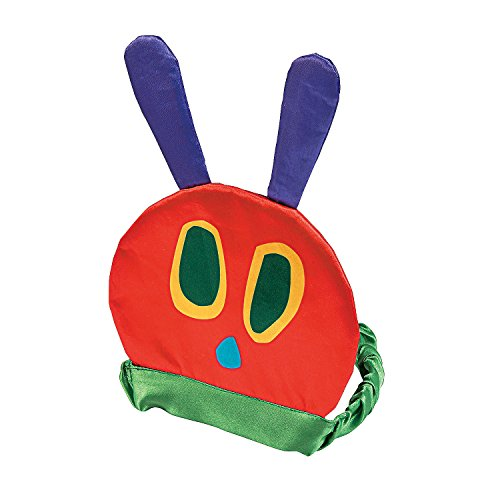 - Fun Express - Hungry Caterpillar Birthday Hat for Birthday - Apparel Accessories - Hats - Party Hats - Birthday - 1 Piece