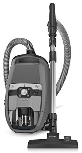 Miele Blizzard CX1 Pure Suction Canister Vacuum Cleaner + SBD285-3 Rug & Floor Tool + SBB300-3 Parquet Twister + Crevice Tool + Upholstery Tool + Dust Brush