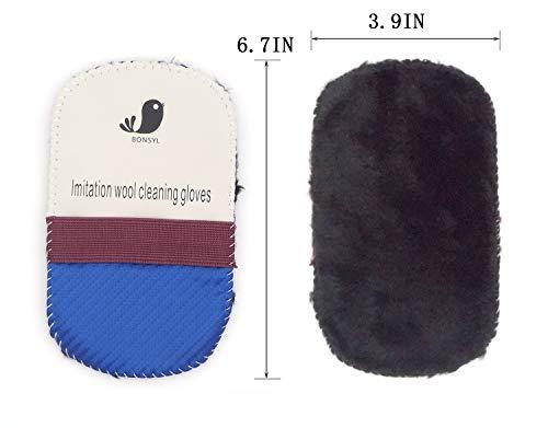 kit d'entretien de la chaussure, kit d'entretien de cuir portable. Y compris le cirage, le cire à chaussures, l'éponge… 5