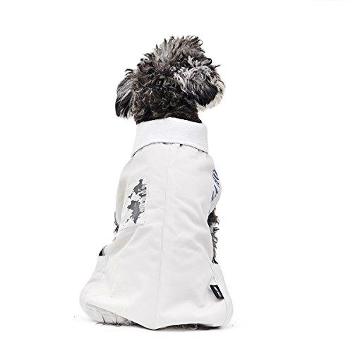 Manvas Gris Ssla Tissu Big Facile Dog Manteau Coupe On Toucher Hiver Vêtements Cape vent Doux D'eau off Bleu Automne UUPAwrq