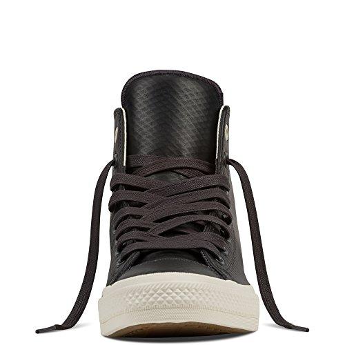 Converse CT All Star II Mesh Back Leather Hi Herren Sneaker Almost Black