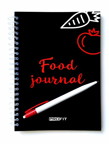 Daily Food Journal - Meal Planner for Weight Loss and Fitness - Food Diary – Diet Planner | Easy-To-Use 16-week A5 Diet Planner / 6x8 Inches / 142 Pages
