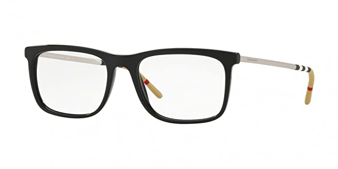 e3e27fc58ce Amazon.com  Burberry Men s BE2274 Eyeglasses Black 55mm  Clothing