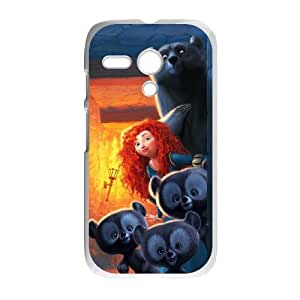 Motorola Moto G Phone Case Whte Disneys Brave F6492410