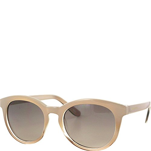 - Jones New York Preppy Round Sunglasses (Nude/Smoke to Brown Lens)
