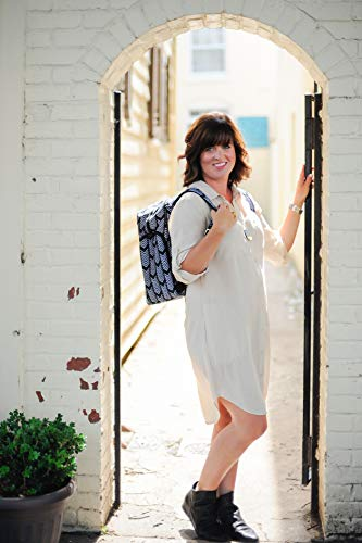 Sarah Wells Kelly Convertible Breast Pump Bag and Backpack (Black and White) by Sarah Wells (Image #5)