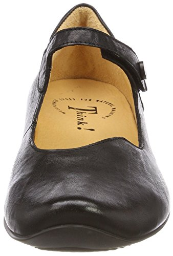 Flats 00 Uk 282107 Ballerinasko Synes Blue 00 00 schwarz Chilli Uk Strap Svart Women's At 5 Think 00 Schwarz Schwarz schwarz Blå Chilli 5 Ankle Black Ballet Kvinners 282107 Forstropp wSCq8A