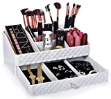Cosmetic Storage Box Organizer - Compartments to