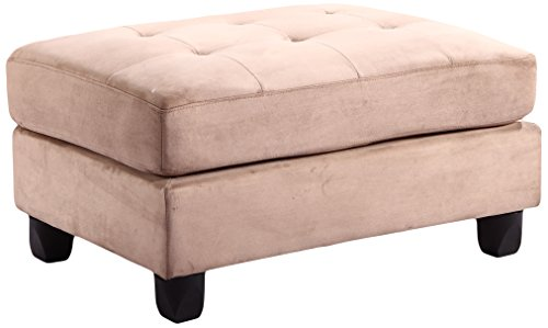 Glory Furniture G634-O Living Room Ottoman, Mocha