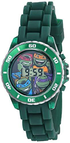 Ninja Turtles Kids' Digital Watch with Matallic