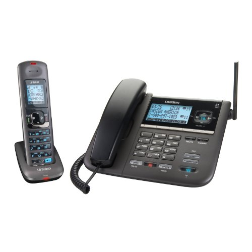 (Uniden DECT4096 DECT 6.0 Two-Line Cordless Phone with Digital Answering System and Caller ID)