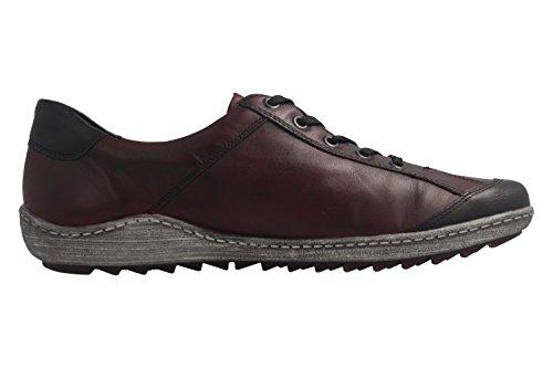 36 Lacets R1400 À Coupe Et Remonte Rouge Femme Classique Chaussures pAqwP5WyZS