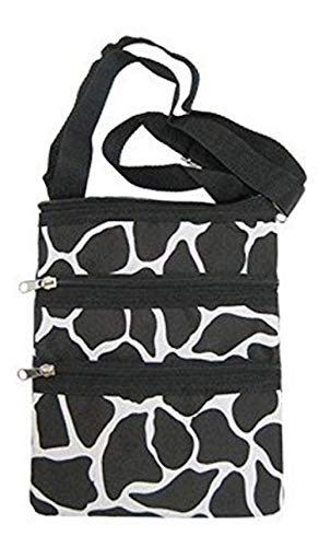 Giraffe Print Small Hipster Cross-Body Bag