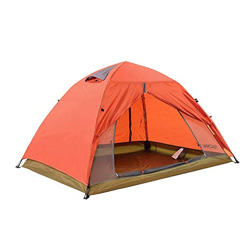 Sowin Instant Screen House Tent 2 Person Portable Automatic Mesh Sun Shelter Lightweight Screen Pop-up Camping Tent for Outdoor Picnics Hiking Fishing Backpacking with Waterproof Rainbag and Carry Bag