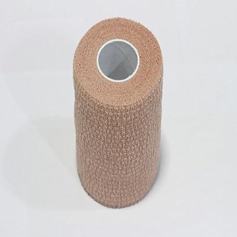 TFXWERWS al Aire Libre Deportes Cinta Músculos Cuidado Cinta algodón médico de compresión (10 cm Color de la Piel): Amazon.es: Deportes y aire libre