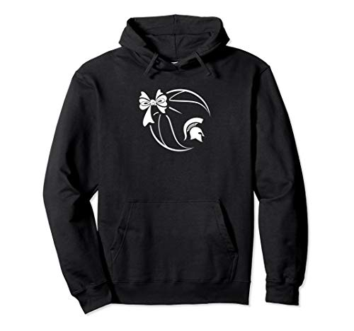 Michigan State Spartans Basketball Ribbon Hoodie - Apparel