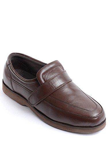 Hommes Cuir Véritable Chaussure Confort Réglable