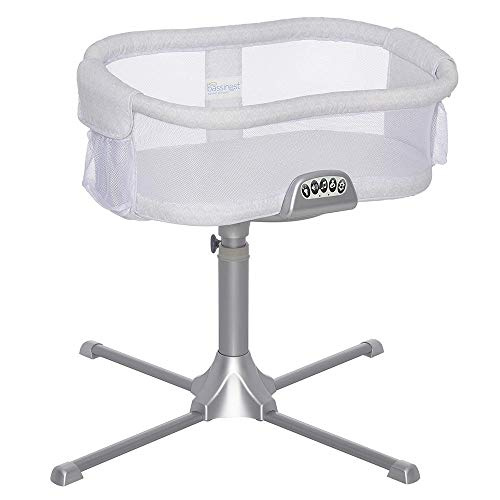HALOBassinest Swivel Sleeper Premiere Series Bassinet, River Stone
