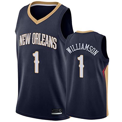 Zion Williamson Icon Edition Swingman Trikot S/&P Sport Zion Williamson New Orleans Pelicans Blau Trikot