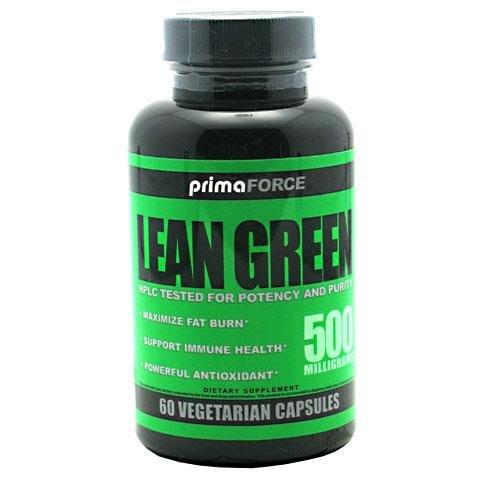 Primaforce Lean Fat Burner Vert - 60 Capsules