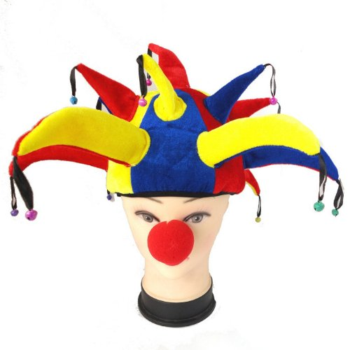 healthcom-jester-hat-mardi-gras-hat-masquerade-funny-party-hats-with-a-jester-nose